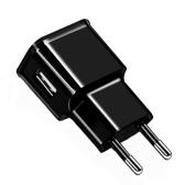 ユニバーサル5V 1A EUプラグ電源アダプタ、USB電源アダプタソケットプラグ付