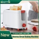 Máquina para hornear pan Deerma Tostadora eléctrica Para el hogar Desayuno automático Tostada Sandwichera Recalentar Cocina Cocina Horno 9 niveles Sabores 220V 680W DEM-SL261