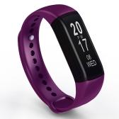 B19スマートバンドタッチ操作血圧心拍モニター睡眠の検出ライフの防水長いバッテリーの寿命リモートカメラスポーツレコーダーがiOSとAndroid用のアラームを呼び出す