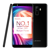LEAGOO M9 Quad-Cam 18: 9 Full Screen Mobile Phone Fingerprint 5.5-Inch HD 2GB + 16GB