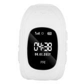 0.96inch OLED Screen Kids Smart Watch Phone for Girls Boys Children Gifts GPS Tracker Locator Smartwatch with SIM Card Slot Remote Monitor Real-time Location Anti-lost Call SOS Alarm Pedometer Suitable for iOS Android Smartphones