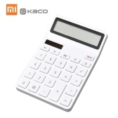 Xiaomi LEMO Calculator Mini Desktop Calcolatrice elettronica portatile 12 Display LCD digitale spegnimento automatico per Office Finance