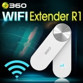 360 WiFi Extender R1 Wireless Network Wi-Fi Amplificatore Ripetitore Wifi-Extender