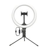 Xiaomi Youpin Baseus Table Light Lamp 3 Light Color 10 Inch Light Ring Studio Camera Ring Light Video Light Universal For Live  Broadcast Camera YouTube Live