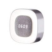 Midea Alarm Clock Night Light Table Calendar Digital LCD Display Clock USB Charging Portable Clock Home Decor 4000K 1500mAh
