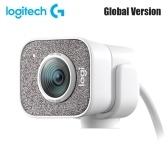 Глобальная версия Веб-камера Logitech StreamCam HD с микрофоном Веб-камера для потоковой передачи в реальном времени Full 1080p, 60 кадров в секунду Вертикальное видео Интеллектуальная автофокусировка и экспозиция Двойное крепление для камеры Универсальность с USB-C для YouTube Gaming Twitch PC / Mac Конференц-связь и видеосвязь - Белый