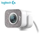 Веб-камера Logitech StreamCam HD с микрофоном Веб-камера для потоковой передачи в реальном времени Full 1080p, 60 кадров в секунду Вертикальное видео Интеллектуальная автофокусировка и экспозиция Двойное крепление для камеры Универсальность с USB-C для игр YouTube Twitch для конференц-связи на ПК / Mac и видеозвонков - Белый