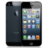 "Apple iPhone 5 Unlocked Refurbished Smartphone 4G LTE 3G WCDMA iOS 9.3 OS Dual Core 4.0"" Screen 1.3GHz 1GB RAM 32GB ROM 1.2MP 8.0MP Dual Cameras 1440mAh Battery Nano-SIM HOME Key"