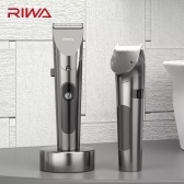 RIWA Professional Hair Trimmer Washable LED Display Rechargeable Electric Hair Cutter Hair Clipper Haircuts Machine For Kids Adults RE-6305 From Xiaomi Youpin