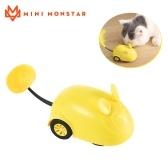 Mini Monstar Pet Control remoto Juguete Puzzle Fun Mouse 2.4GHz Control remoto inalámbrico / Infrarrojo incorporado / Carga USB / Diseño ergonómico Interacción humana con mascotas Divertido juguete para mascotas