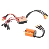 OCDAY B2430 7200KV Motore brushless sensorless impermeabile con S-35A Set da 3,5 mm ESC per 1/16 1/18 RC Car Boat