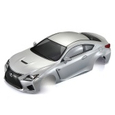 KillerBody 48648 257mm LEXUS RC F wykończone nadwozie Shell Frame dla 1/10 Electric Touring RC Racing Car DIY
