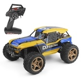 Wltoys XK 12402-A D7 2.4 ГГц 1/12 RC Car 550 Motor 4WD 45KmH Desert Buggy Car