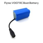For Flytec V007 Fish Finder Fishing Bait Boat Battery 7.4V 5200mAh Lithium