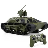 FC166 2.4G 1/12 Пульт дистанционного управления Боевой танк Вездеходный автоцистерна Поворот на 360 °