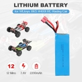 7.4V 2200mAh Lithium Battery for WLtoys XKS 144001 1/14 RC Car