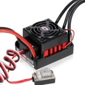 Hobbywing WP-10BL60 ESC 60A Waterproof Brushless ESC for 1/10 RC Car On-road Off-road Buggy Compatible with Traxxas Hsp Redcat Rc4wd Tamiya Axial Scx10 D90 Hpi Car
