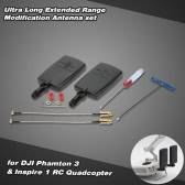 Ultra-Lang Extended Range Modification Antenne Set für DJI Phantom 3 Professional Advanced & Inspire 1 RC Quadcopter