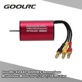 GoolRC S2440 4000KV motor sin escobillas sin sensores de 1/18 1/16 del coche de RC