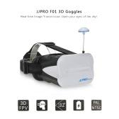 Ursprüngliche JJR / C JJPRO F01 5.8G 64ch Raceband 3D-Brille Drahtlose FPV Gläser mit 5in VR-Monitor für JJRC H6D H8D H11D JJPRO P175 P200 QAV250 RC Quadcopter Racing Drone