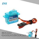 Cys-S0005 5g Light Weight Plastic biegów Micro Analog Standardowe serwo RC Stałopłat