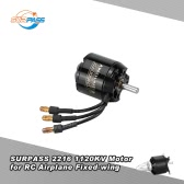 Original SURPASS High Performance 2216 1120KV 14 polos Brushless para RC avião de asa fixa