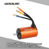GoolRC 3660 3800KV Brushless Motor impermeabile per 1/10 RC camion dell