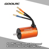 GoolRC 3660 3800KV 1/10 RCカートラッククローラー用防水ブラシレスモータ