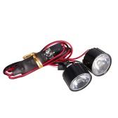 AUSTAR AX-006B 1W Highlight LED Lights w/ Controller Board for 1/10 Rock Crawler Traxxas Redcat  AXIAL RC Car