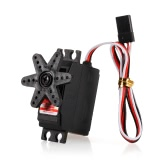 JX PS-2503HB 4.8V-6V High-Voltage 0.10sec/60° 3.35kg Digital Plastic Gear Analog Mini Servo Aluminums Case for 1/12 RC car