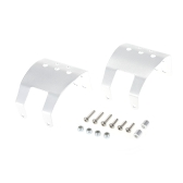 Aluminum Skid Plate Axle Protector for Axial SCX10 1/10 RC Rock Crawler Truck Car