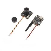 Turbowing Cyclops 3 5.8G 48CH 25mW 200mW Switchable 700TVL FPV Transmitter DVR Camera for Tiny 130 QAV210 FPV Racing Quadcopter