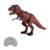 Infrared Remote Control Tyrannosaurus Rex Simulation Mini T-rex RC Animal Toy Christmas Present Gift for Kids