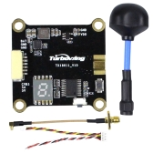 Turbowing Cyclops TX18011 Trasmettitore video VTX 5,8G 48CH FPV VTX commutabile 0/25/200 / 600mW con antenna polarizzata
