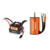 OCDAY BL3660 3800KV Sensorless Brushless Motor with 80A ESC for 1/10 RC Crawler Traxxas Redcat HSP Car Truck
