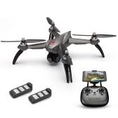 MJX Bugs 5W 1080P RC Drone con dos baterías