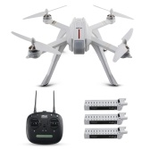 MJX Bugs 3PRO RC Quadcopter w / Three Batteries
