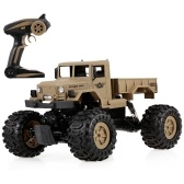 ZEGAN ZG-C1231WS 1/12 2.4G 4WD Off-road RTR RC Military Car Electric Śnieg Rock Crawler dla dzieci