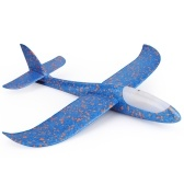 Hand Throwing Foam Aeroplane Glider with Head LED Lights