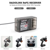 Radiolink R6FG 6CH 2.4GHz Receiver with Gyro Integrated and HV Servo Supported for RC4GS RC6GS RC4G T8FB Transmitter