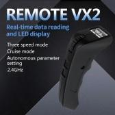FLIPSKY Telecomando schermo VX2 per skateboard elettrico Ebike Eboat compatibile con doppio ESCESC6.6 Mini ESC (versione Mile)