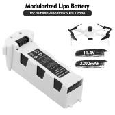 Hubsan Zino H117S Bateria Modularizada Lipo Bateria 11.4V 3200mAh Bateria Inteligente de Reposição