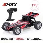 EMAX Interceptor  2.4G 1/24 FPV Racing RC Car with 600TVL Camera Race Car