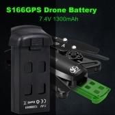 Batteria per drone CSJ 7.4V 1300mAh per quadricottero S166GPS RC