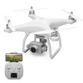 Drone WLtoys XK X1 Drone GPS 5G Wifi FPV avec caméra 1080P Quadricoptère à stabilisation automatique 2 axes pour cardan (Temps de vol de 17 minutes)