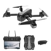 KF607 1080P Camera 2.4G Wifi GPS RC Drone Way-point Flight Point of Interest Follow Me Gesture Photos Video(1 Battery)