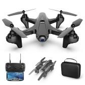 1080P Double caméra WiFi FPV Drone Drone pliant sans tête Mode One Key Drone de retour pour adultes