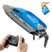 2.4GHz 4 Channel RC Boat Remote Control Boat 30KM/H High Speed IPV7 Waterproof Racing Boat for Kids Adults