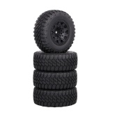 4pcs 105mm 1/10 RC Car Truck Tyres Compatible with Traxxas HSP Tamiya HPI Kyosho RC Car