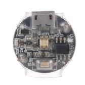 ミニLEDフラッシュライトシグナルランプドローンRCカー用充電式ナビゲーションライトDJIMavicドローントラクサスRCカーと互換性があります